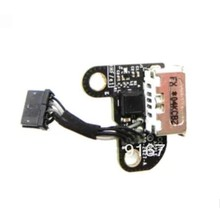 Original New For Macbook A1342 DC-IN POWER JACK BOARD CABLE 820-2627-A For Magsafe(China (Mainland))