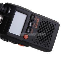 PoFung UV-3R Walkie Talkie Dual Band Display Two Way Radio Interphone H1E1