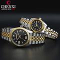 CHENXI Top Brand Watch Ladies Quartz Watches Women Men Simple Dial Lovers Quartz Fashion Leisure Wristwatches