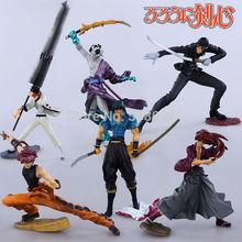 Free Shipping Anime Cartoon Rurouni Kenshin Himura Kenshin Sunosuke PVC Action Figure Toys 7″ 18cm