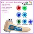 1mhz 3mhz Ultrasound Galvanic Ion Skin Pores Makeup Cleaning 7 Led Photon Skin Lift Rejuvenation Face
