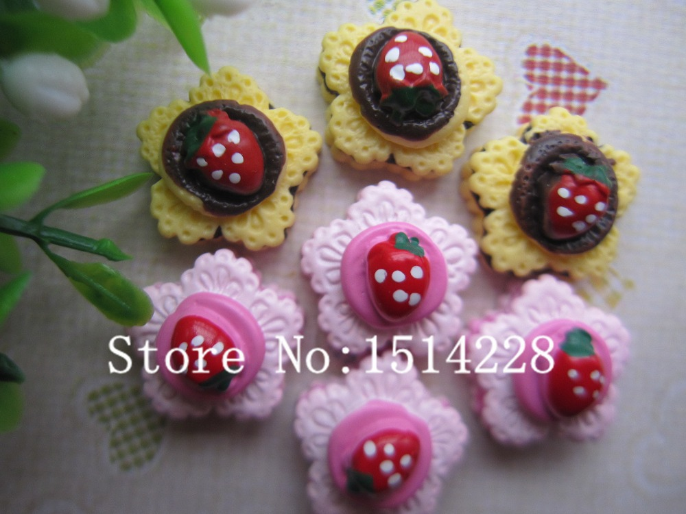 Free shipping! Resin Fancy cake. Resin Flatback Cabochon for phone decoration,DIY .15mm(China (Mainland))