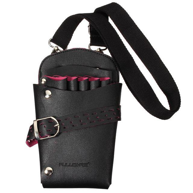 2 цветов Pro салон кожа парикмахерские ножницы комплект мешок карманы многофункциональный ...