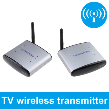 250M 2.4G Wireless AV Transmitter Receiver Sender TV Audio Video Transmitter Receiver for TV BOX DVD IPTV + FCC certificated