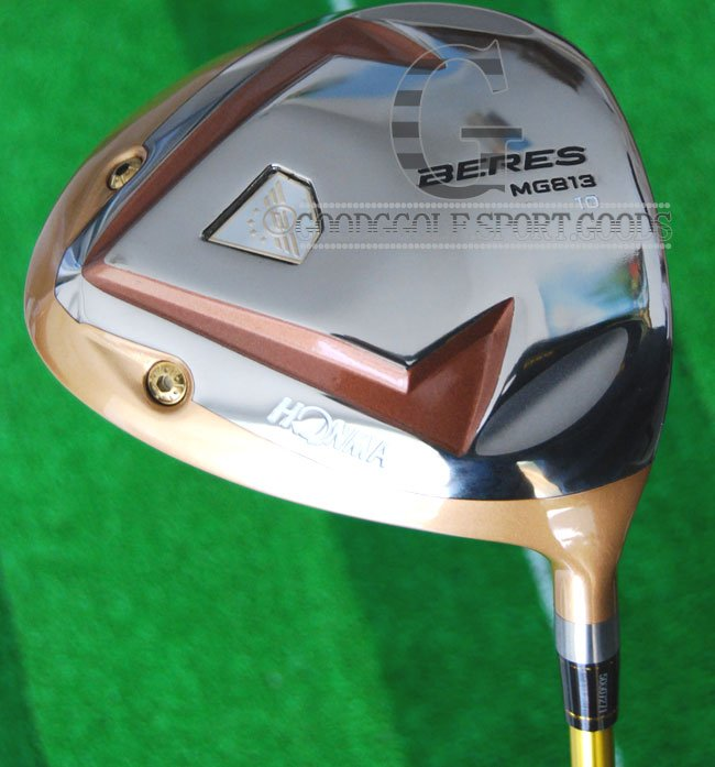 New Golf Clubs Honma Beres MG 813 Golf driver 10Loft,Graphite/shaft/shaft Japan Golf Plus Golf wood Headcover Free shipping,(China (Mainland))