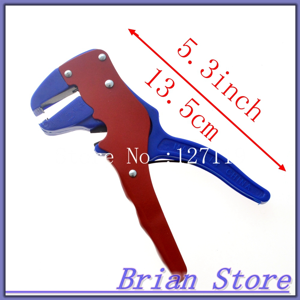 Automatic Wire Stripper Cutter cable stripping hand tool for single or multiple cables section 0.2-3mm2 pliers cable cutter(China (Mainland))