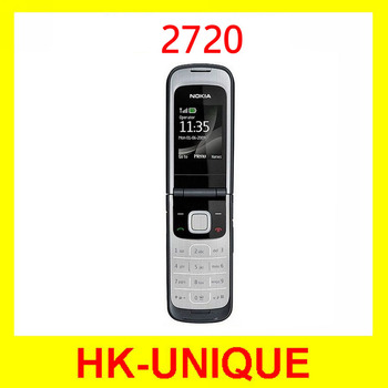 wholesale Unlocked Original Nokia 2720 cell phone  in stock one year warranty