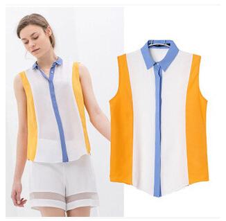 Женские блузки и Рубашки Brand new 0360 2015 , Blusas женские блузки и рубашки brand new o sv003597