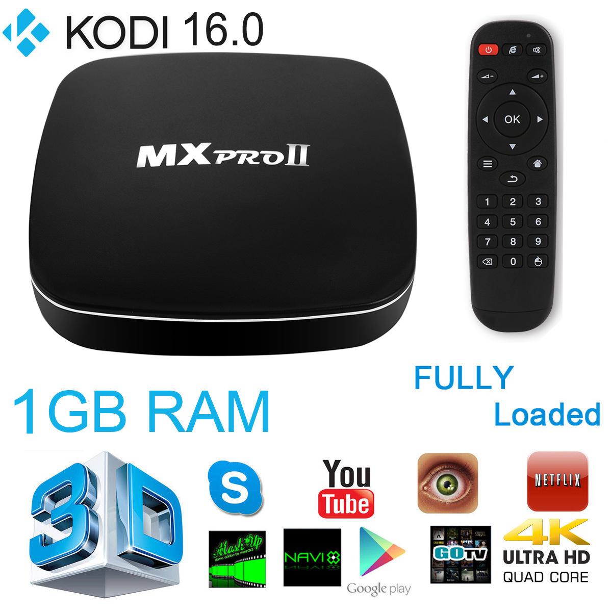 MXPRO II Smart Android 5.1 TV Box Amlogic S905 Quad Core 8G ROM Bluetooth 4.0 XBMC KODI 4K 2.4G 5G Dual Wifi Set Top Box AH123(China (Mainland))