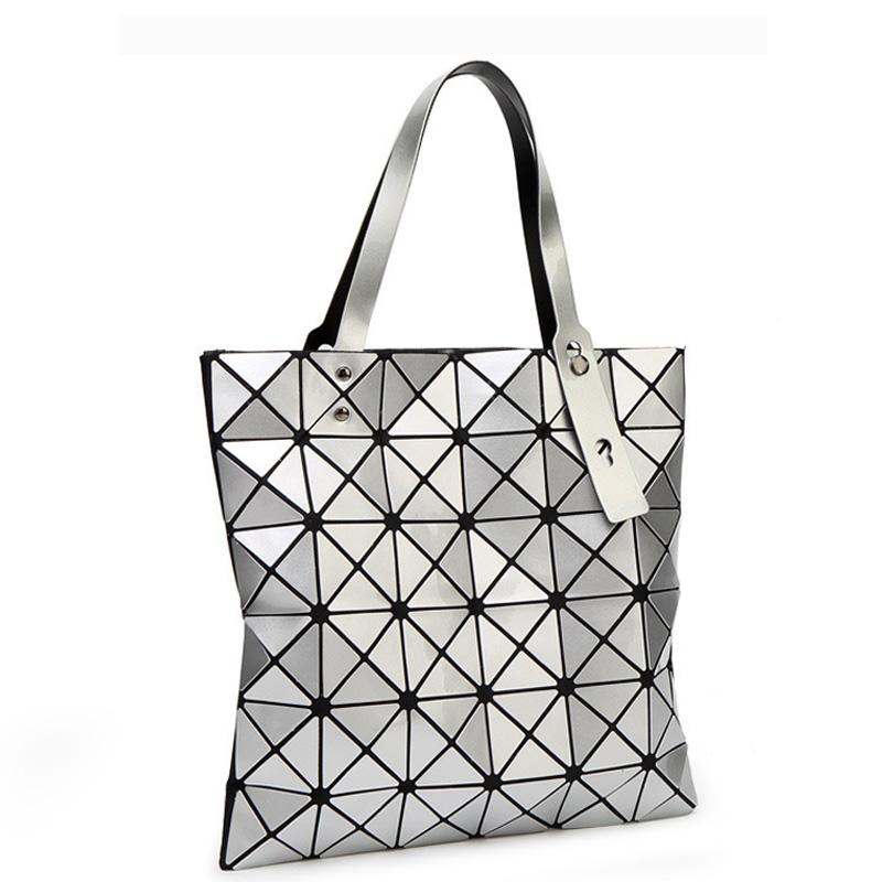 2016 New Bao bao women pearl bag Diamond Lattice Tote geometry Quilted shoulder bag sac bags handbags women famous(China (Mainland))