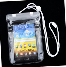 Waterproof Pouch Case Bag Pack Underwater for iPhone for iPod Cellphone Camera MP3 Free / Drop Shipping(China (Mainland))