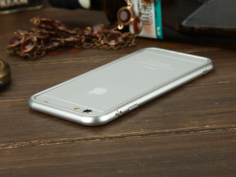 No. 1 New Luxury Slim Ultra Thin Aluminum Bumper Metal Frame Case iPhone 6 4.7inch - FLYING@anna Phone Accessories store