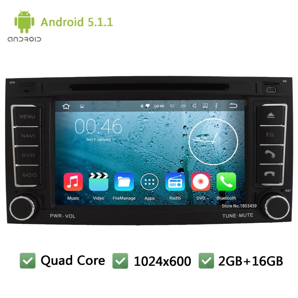 Quad Core Android 5 1 1 1024 600 font b Car b font DVD Player Radio