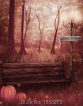 5*7ft scenic Photography background halloween children studio backdrops for photo shoot computer digital printing HA-055