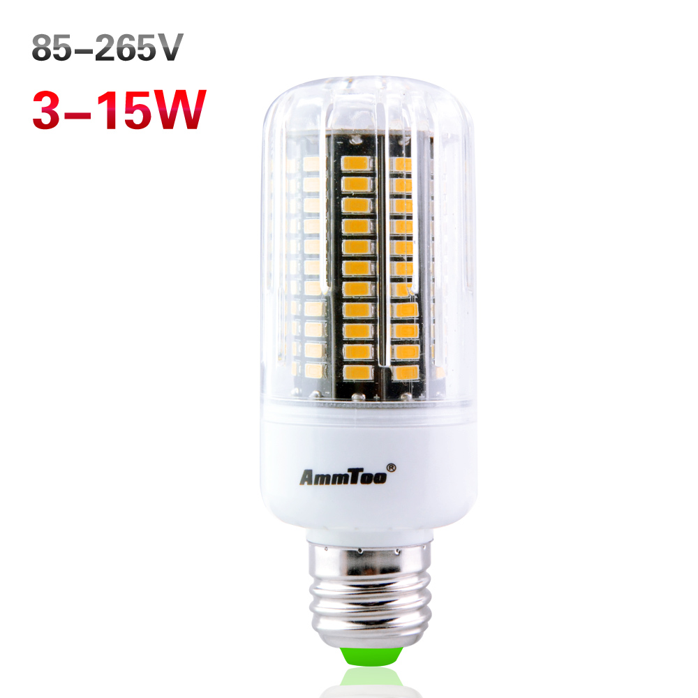 5736 SMD LED Corn lamp E27 E14 E12 3W 5W 7W 9W 12W 15W Bulb light 85-265V ampoule led bombilla For Downlight Crystal chandeliers(China (Mainland))