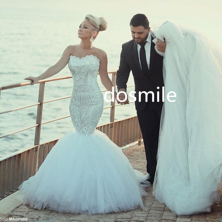 Turmec strapless wedding dresses 2016 for Lace sparkle wedding dress