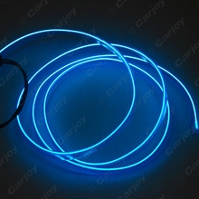 Buy Blue 1m Flexible Moulding EL Neon Glow Lighting Rope Strip Fin Car Decoration #CA3267 for $2.21 in AliExpress store