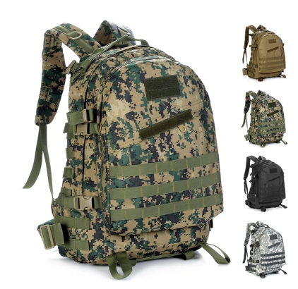 40L Men Outdoor 3D tactical military backpack Camouflage attack hiking travel bag laptop MOLLE large - eBags CHINA store
