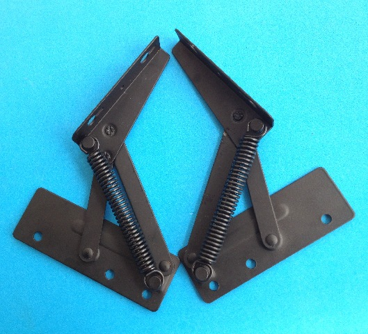 The hinge of the hinge of the hinge on the hardware fittings door is thickened and black hinge(China (Mainland))