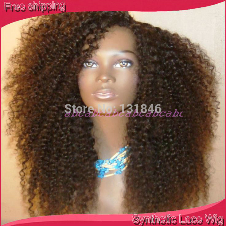 Afro Kinky Synthetic Wigs 40