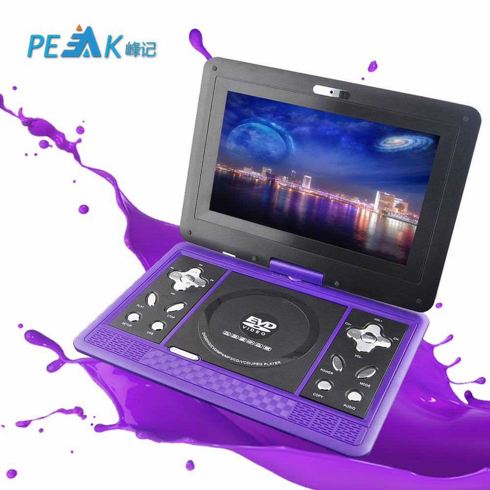 Portable EVD player with a small 10 inch high-definition TV DVD player in mobile DVD<br><br>Aliexpress