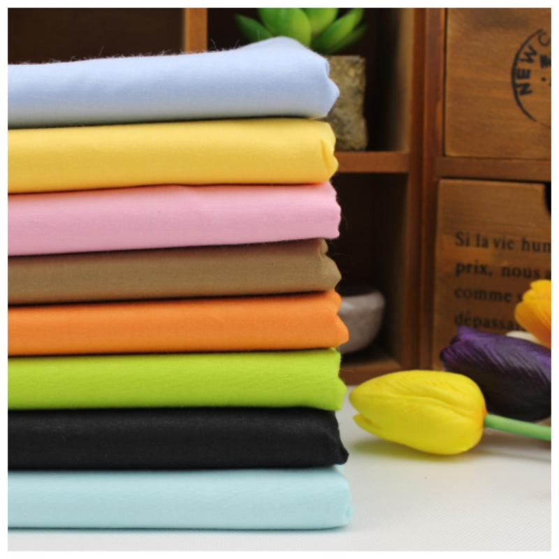 Twill 8 pcs cotton fabric Assorted Pure Series cotton textile fabric for sewing crafts Tilda Cloth 40*50cm Sewing patchwork