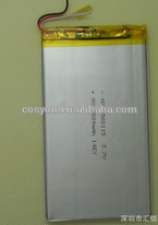3560115 rechargeable ul listed tablet PC flat lithium polymer battery 3.7v 3000mah 11.1wh f