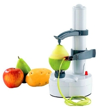 Excellent Quality Portable Automatic Electric Fruit Pear Potato Peeler Stainless Steel Fruit Machine Peeled Tool Home Kitchen(China (Mainland))
