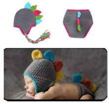 Cute Newborn Crochet Outfits Design Warm Cap Boy Cap Girl Hat Baby Set Baby Hat For Infant Newborn Photography Prop Fotografia(China (Mainland))