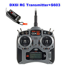DX6i + S603 6CH RC DSM2 DSM-X receiver 2.4G 6channel RC transmitter radio control ( mode 1 or mode 2) RC, free shipping
