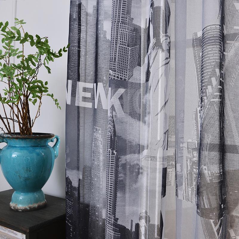 Achetez en gros rideaux new york en ligne des grossistes - Petit rideau new york ...