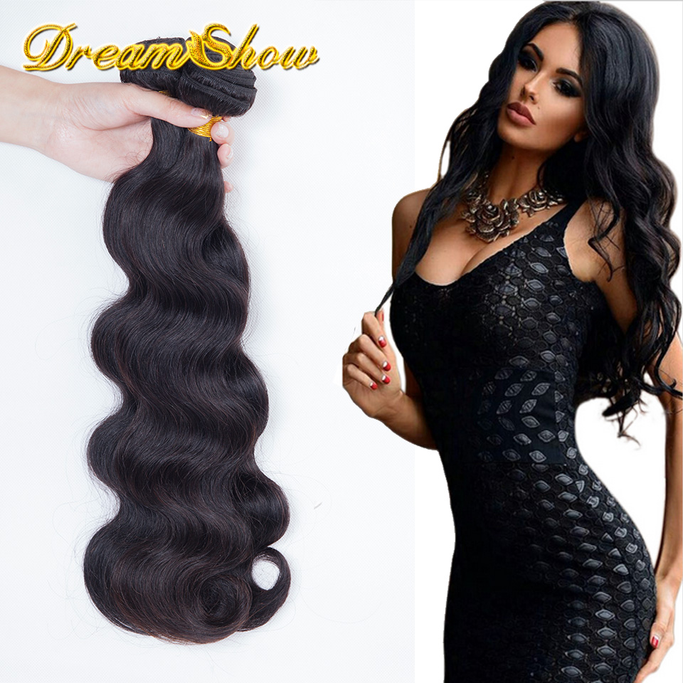 Brazilian Virgin Hair Body Wave 3pcs Aliexpress Queen Hair Products 100% Human Hair Weaves Brazilian Body Wave Natural Color