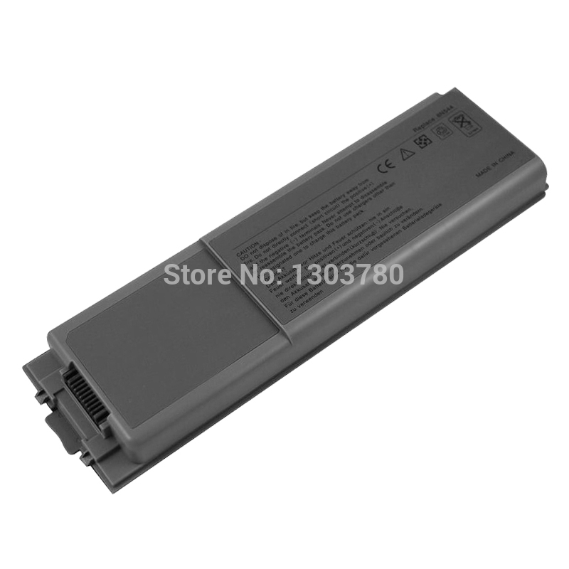 4400mAh Laptop Battery For Dell Latitude D800 for Inspiron 8500 8600 Precision M60 Y0956 W2391 P2928 BAT1297 8N544 5P144 5P142(China (Mainland))