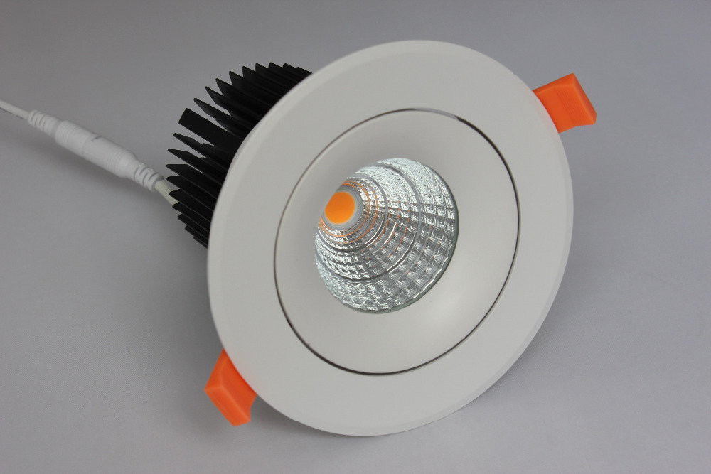 Free shipping 20W Recessed led COB downlight bulbs Cree COB downlight AC100-240V<br><br>Aliexpress