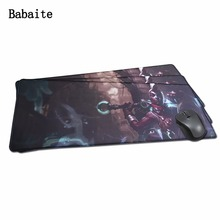 Buy Babaite Rakoon Locking Edge Mouse Mat Control/Speed Version Large Gaming Mouse Pads Mousepad Anti-slip Lol CS Special offer for $8.98 in AliExpress store