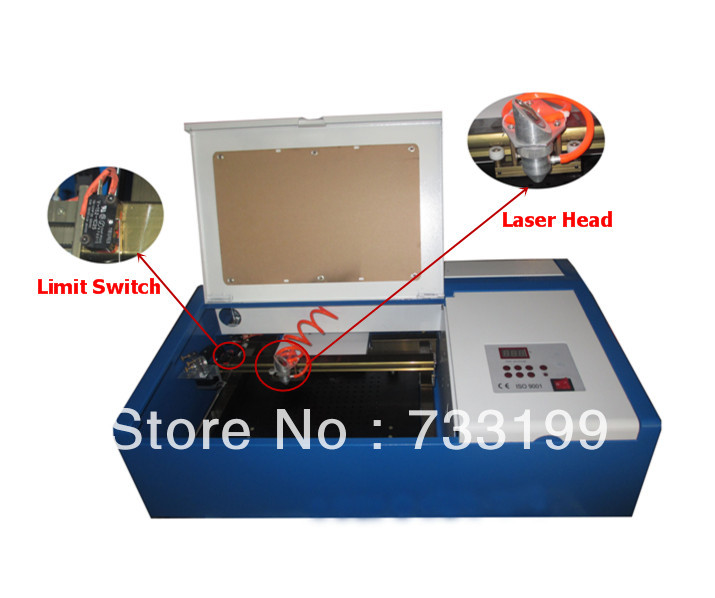 40W Rubber Stamp Laser Engraving Machine 300*200mm Small Business - Liaocheng Longtai Equipment Co., Ltd. store