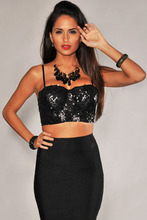 Cropped Bustier Top Women