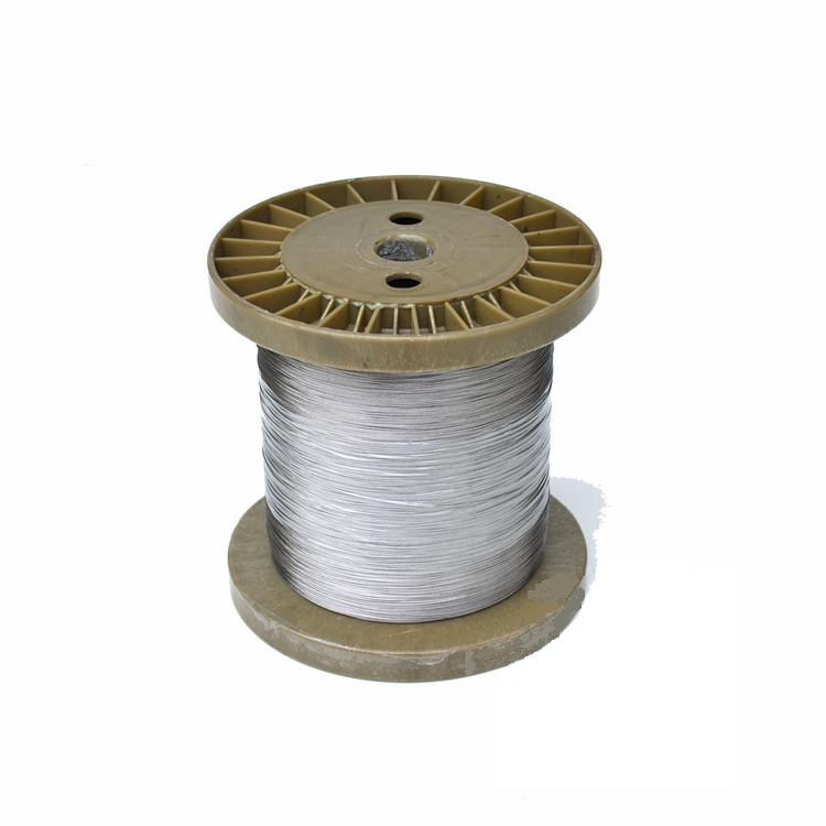 100m/lot 0.80mm High Quality 304 Stainless Steel Wire Rope Wick SS Cable Wick DIY 7x7 Strand Core NON GALVANIZED(China (Mainland))