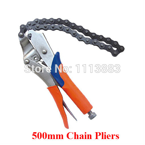 "Wrench with 9"" Body Oil Filter Pipe Plier Tool from Reliable wrench"