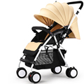 High Quality Baby Stroller Portable Light Weight Baby Car Shockproof Can sit Lying Folding Strollers Prams