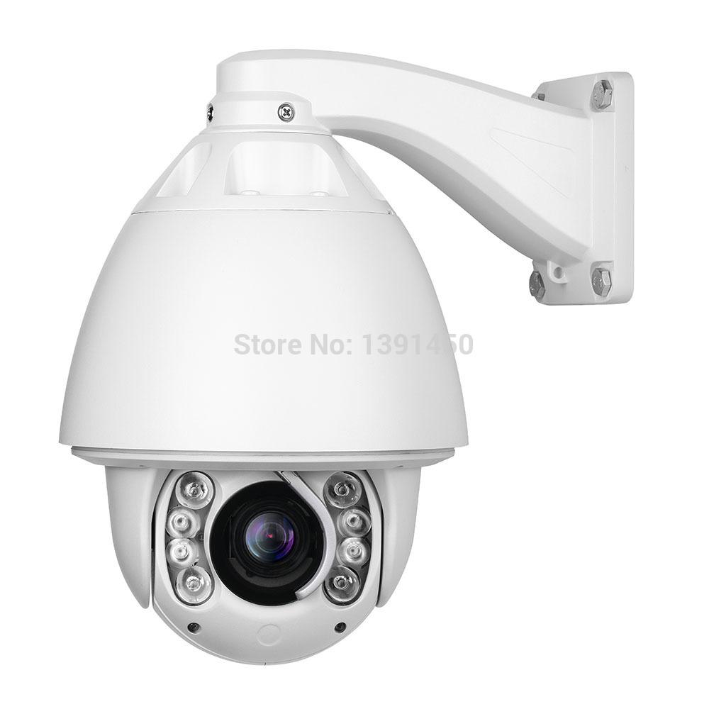 2MP full HD1080P High speed dome camera 20x Zoom cctv camera Auto Tracking PTZ IP Camera(China (Mainland))