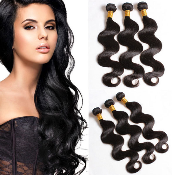 new Hair Products Virgin Malaysian Hair Body Wave Grade 6A 100% Unprocessed female Hari extension Hair Shipping Free(China (Mainland))