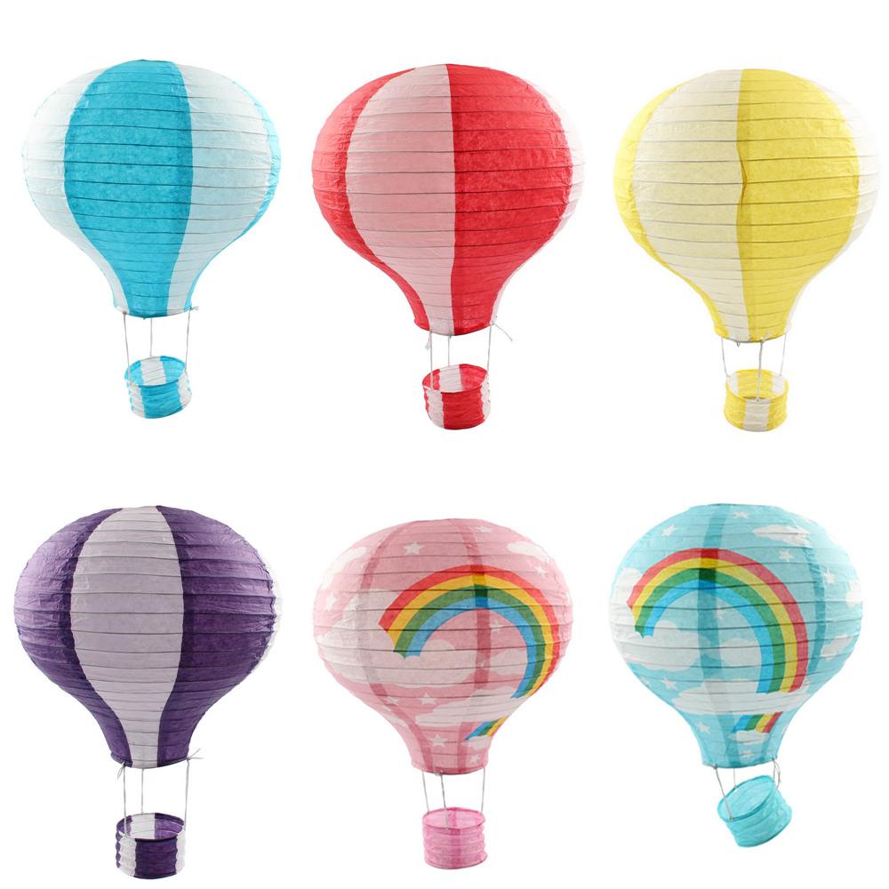 2Pcs/lot Hot Air Balloon Paper Lantern 12 inch for Wedding Party Birthday Craft Garden Decoration(China (Mainland))
