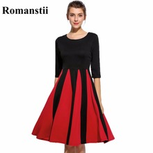 Buy New Elegant Sexy Harajuku Boho Women Spring Summer Dress Female Lady Cute Sweet Black Red Tunic Flare Wide Clothing Clothes 2017 for $16.43 in AliExpress store