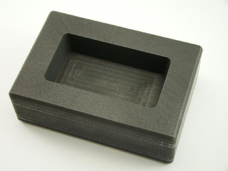 Free Shipping Graphite Ingot Mold For 20oz Silver Bar