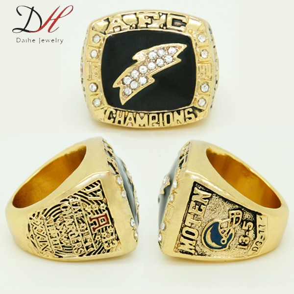 San Diego Chargers Championship Rings: 2015 Fashion Sport Jewelry 1994 San Diego American