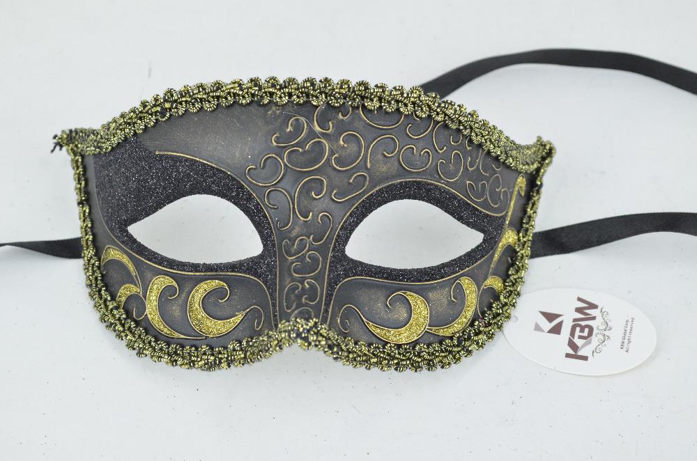 Hand Painted Venetian Party Mask masquerade masks Halloween Carnival mask Plastic Masks 14 M67134BG