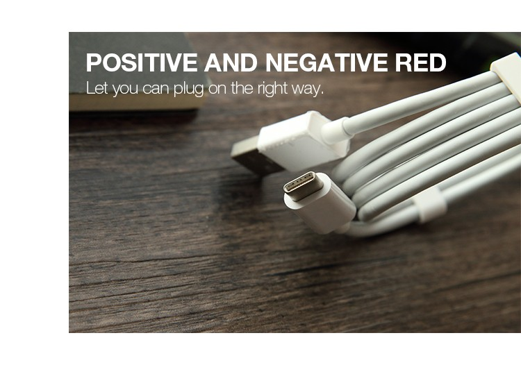 Type-C Material USB2.0 Data Cable 1 Meter Fast Charging Cable USB for iphone