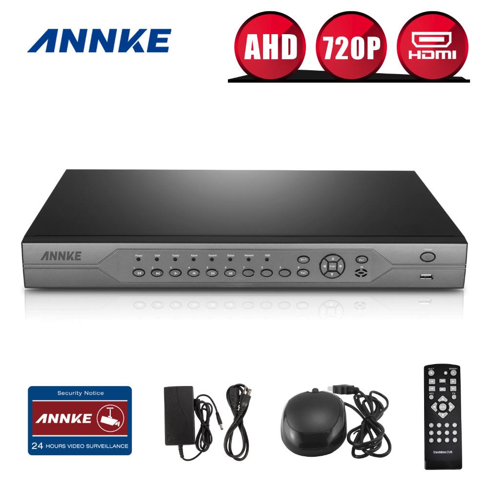 ANNKE 24CH 720P HD Video Recording CCTV HDMI DVR NVR Recorder Home Surveillance System(China (Mainland))