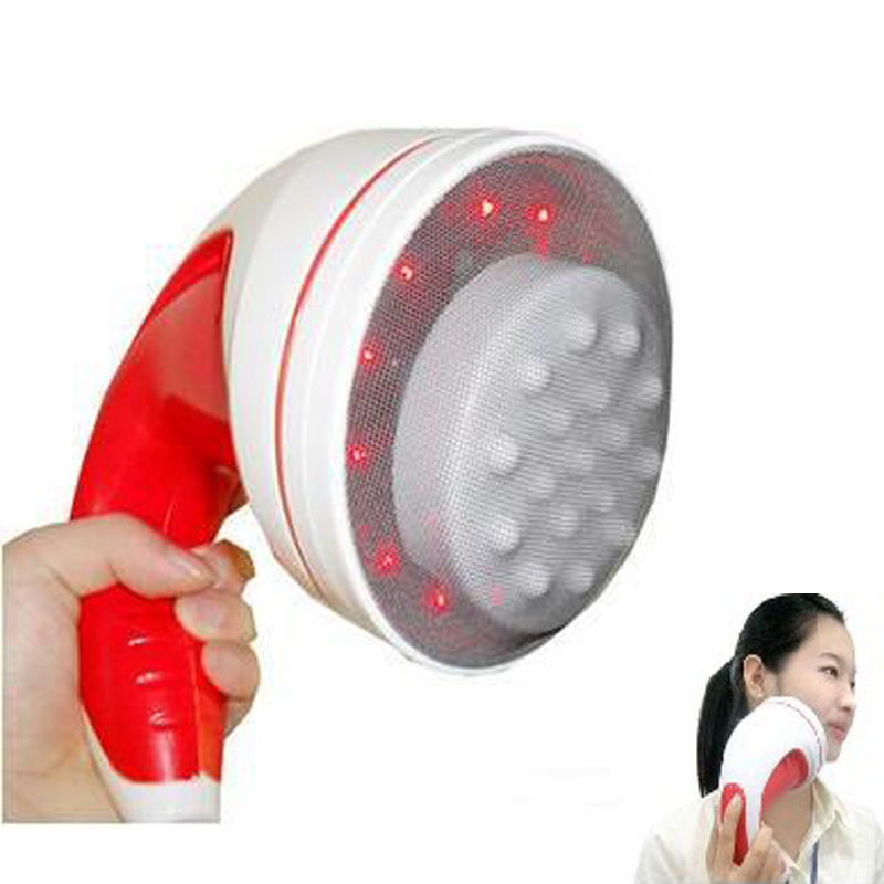 body massager electric Relax spin Tone infrared magnetic shoulder fat burning full body slimming massager vibrator care massage(China (Mainland))